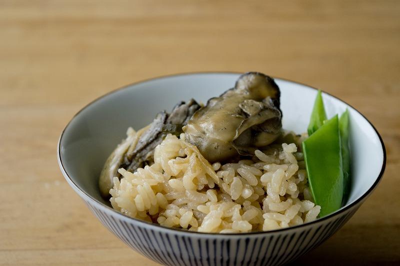 オイスターソースの牡蠣炊き込みご飯6