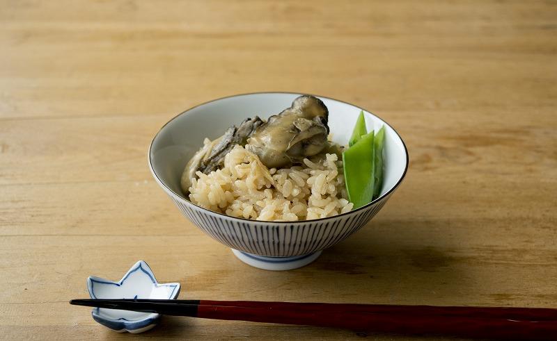 オイスターソースの牡蠣炊き込みご飯7