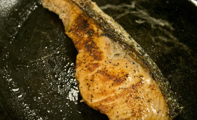鮭のレモンオイル漬け2