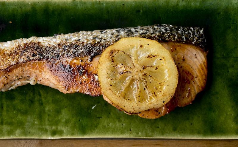 鮭のレモンオイル漬け5