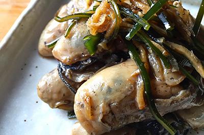 【季節商品】雪解けの牡蠣しぐれ煮