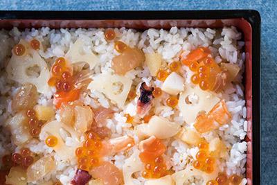 海鮮ちらし寿司の具